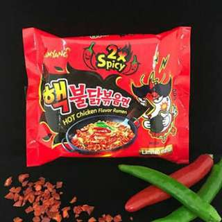 Samyang Spicy Noodles (2x)