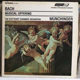 Bach Musical Offering Munchinger LONDON ffrr STS 15063