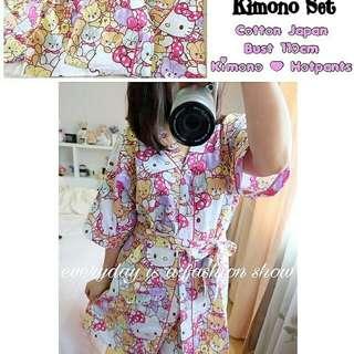 (nzz) Hello kitty kimono set  85.000