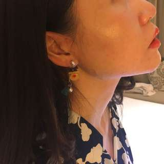 UK christmas market DIY earrings $120