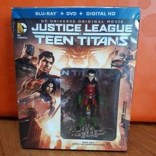 USA Blu Ray - Justice League vs Teen Titans