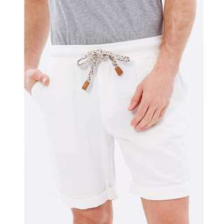 The Academy Brand Mens Linen Shorts - BRAND NEW - RRP $99