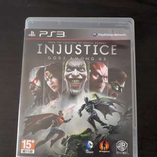 PS3 Game : Injustice Gods Among Us