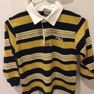 FILA LONG SLEEVE POLO