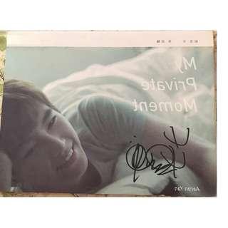 Aaron Yan 2 nd Album with Signature