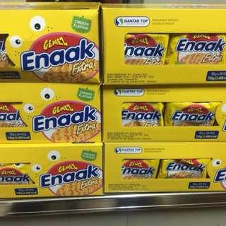 韓國 Enaak 重量包 香脆 點心麵 大雞麵 24包 720g 小雞點心麵 小雞麵 大包 現貨