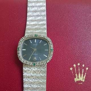 勞力士鑽石手錶女裝。