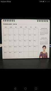 New! SQ SIA Table Calender