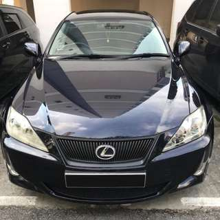 Lexus IS250 2.5 Auto Luxury
