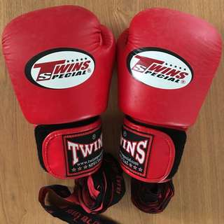 Boxing Gloves (red)