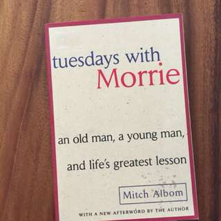 Tuesday with Morrie