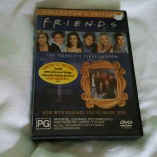 Friends US limited 1st ever season