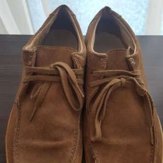Fred Perry suede shoes