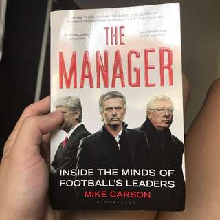 the manager soccer book