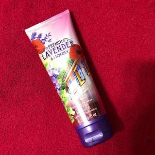 Bath And Body Works lavender and honey lotion