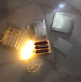 Diy Light Battery Holder on off switch