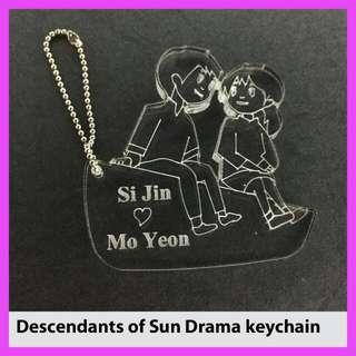 Decendents Of Sun Drama Keychain.
