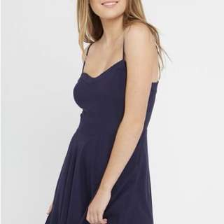 Factorie Springtime Lace Up Dress