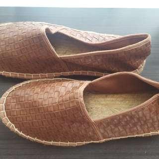 ASOS woven plimsoles shoes