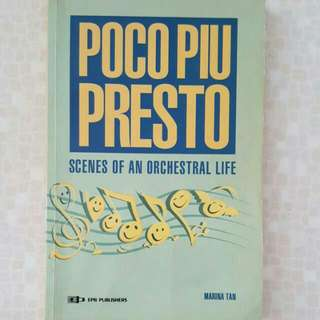 FREE NM📬Poco Piu Presto Scenes Of An Orchestral Life Book (Music)