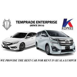 Car Rental KL Temprade