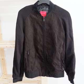 ZARA Man Mixed Fabric Jacket