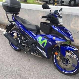 2015 Yamaha Y15ZR Movistar GP Edition
