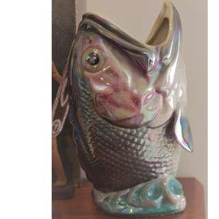 Wembley Ware Dhufish Lustreware Vases