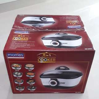 *New in box* Morries 8 in 1 multifunction cooker