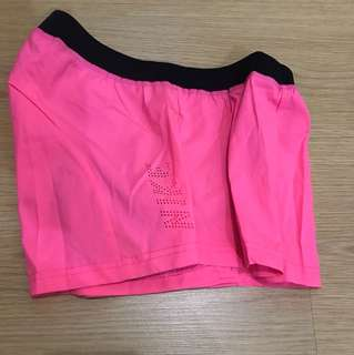 Nike Cycling Shorts - Pink/Black (Medium)