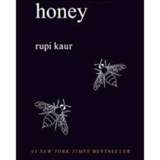 Milk and honey book by rupi kaur