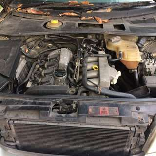 Audi A4 B5 Turbo Engine kosong 1.8