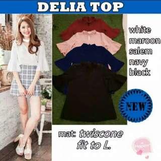 DELIA TOP WHITE