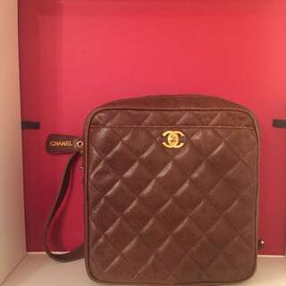 Chanel vintage backpack 100% authentic well condition 95% new