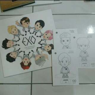 [WTS FAST] EXO OFFICIAL COLOURING BOOK