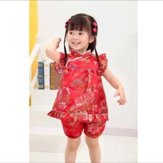 Children traditional clothes 1-4 years old