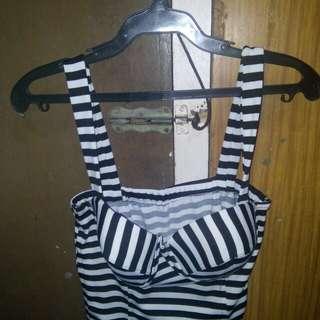 Stripes bustier