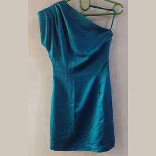 prloved green dress