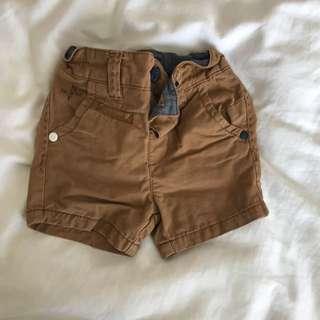 Boys next uk khaki shorts