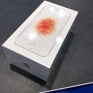 全新 Apple iPhone SE 128GB Rose Gold 玫瑰金