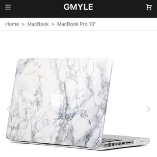 "GMYLE Apple MacBook Pro 13"" Marble Casing"