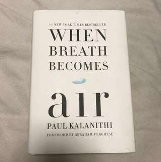 When Breath Becomes Air - Hardcover
