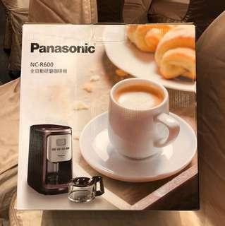尾牙抽中便宜賣!Panasonic 全自動研磨咖啡機 NC-R600