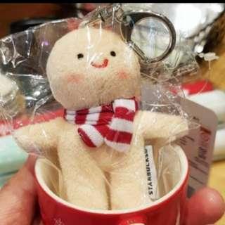 Starbucks korea keychain demi mug