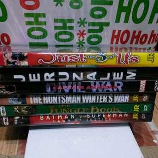 6 pcs. Of Random DVD's