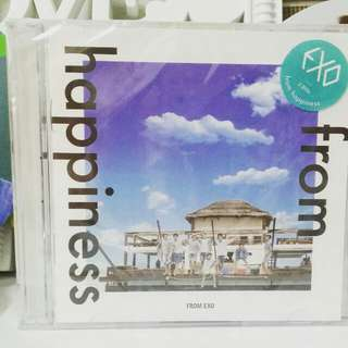 [READY STOCK] SEALED EXO FROM HAPPINESS DVD
