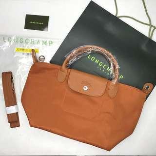 Caramel Longchamp Neo Small