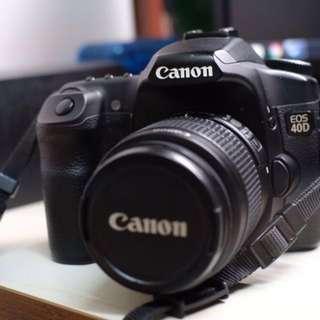 Canon EOS 40D + 15-55mm Kit Set
