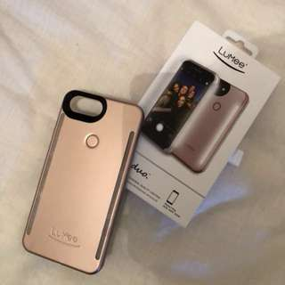 LuMee Duo Case (Rose Gold) iPhone 7/8 Plus