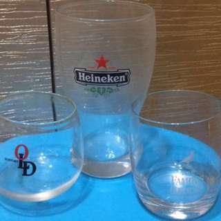 烈酒杯 海尼根啤酒杯 10入 整理家出清賣 可面交